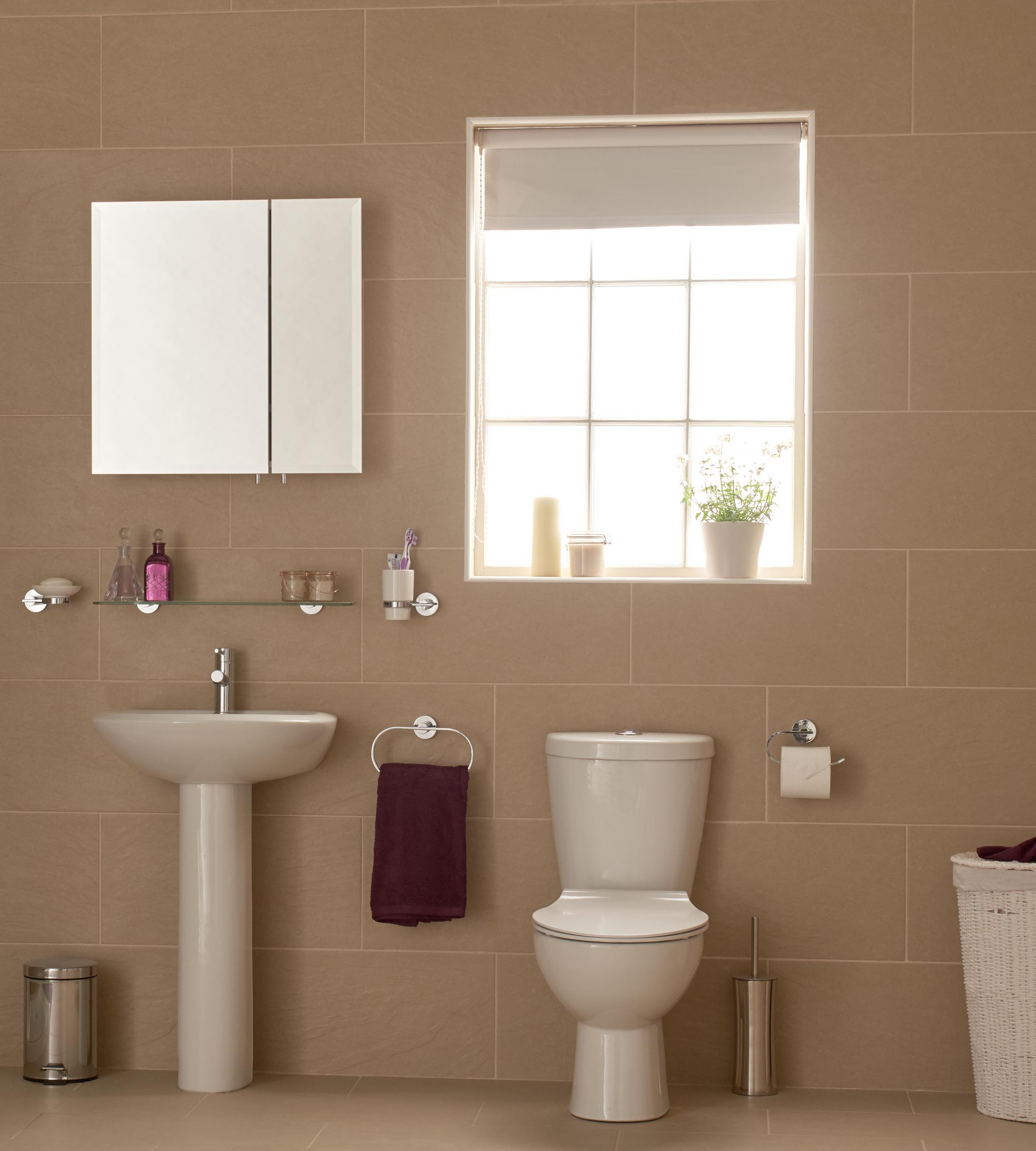 Bring the outdoors into your bathroom!