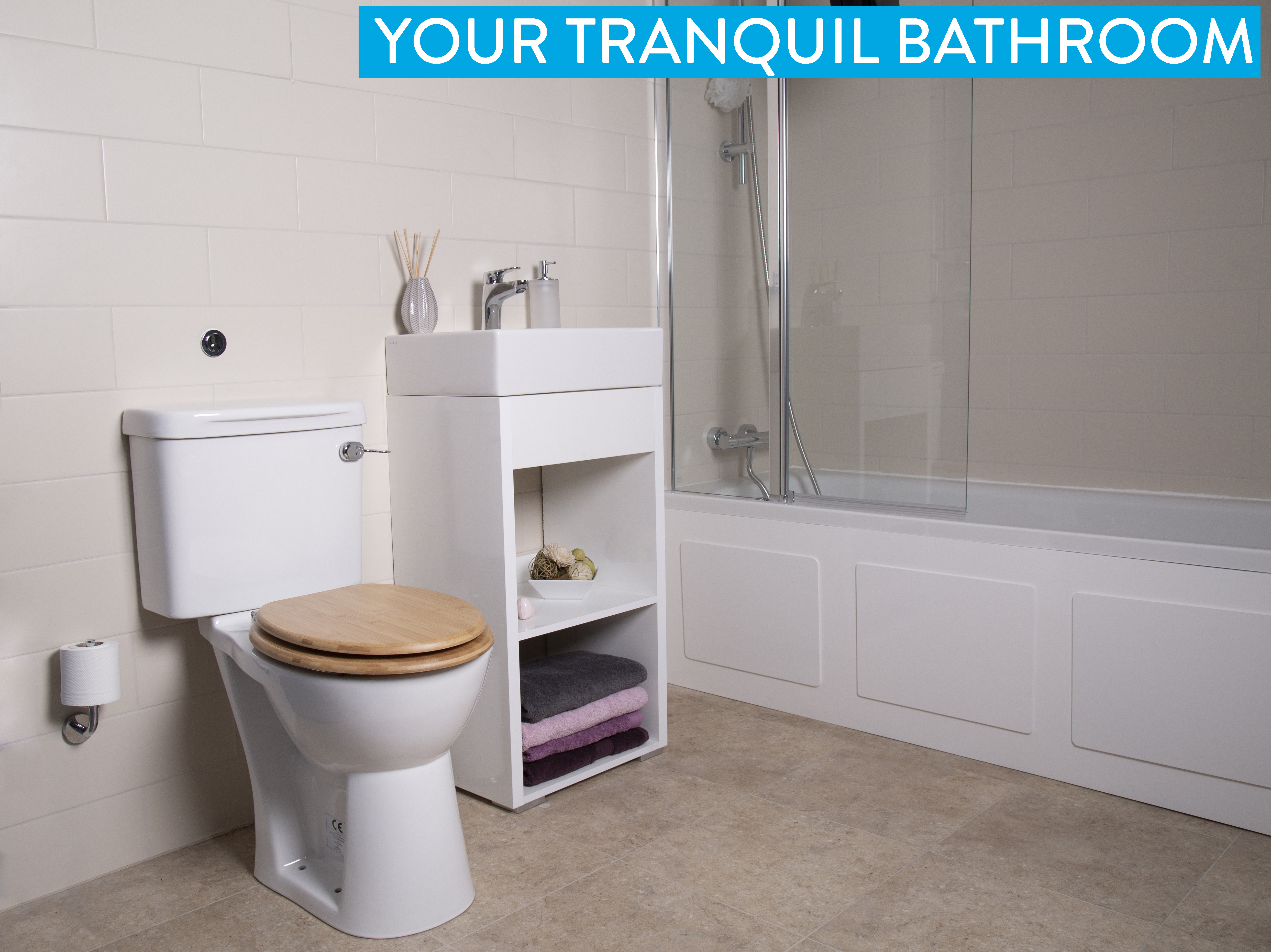 Creating a calm and tranquil bathroom