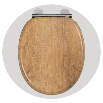 All Wood Toilet Seats
