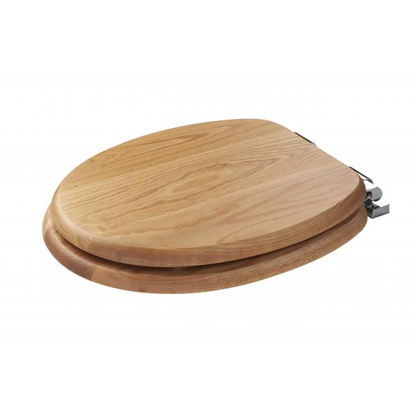 Dark Wood Toilet Seat Soft Close Silverdale Traditional Luxury