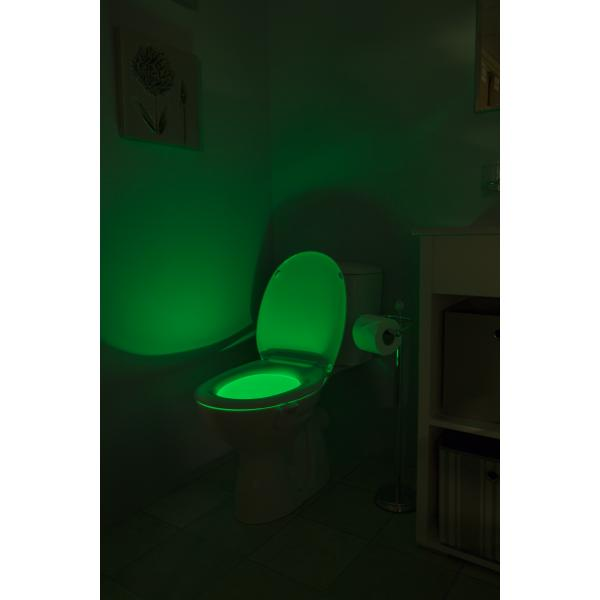 colour changing toilet pan light croydex 22962