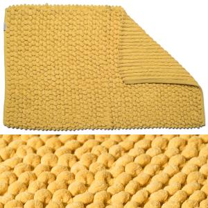 Yellow Soft Cushioned Bathroom Mat