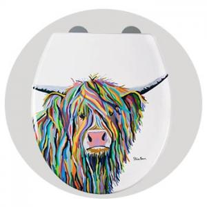 Angus McCoo Flexi-Fix™Toilet Seat by Steven Brown Art