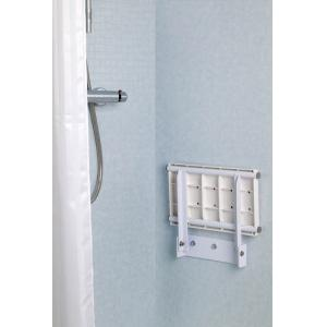 Wall Mounted Fold Away Shower Seat Croydex