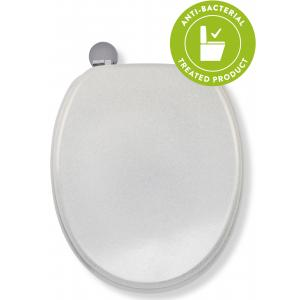 White Quartz Flexi-Fix™Toilet Seat