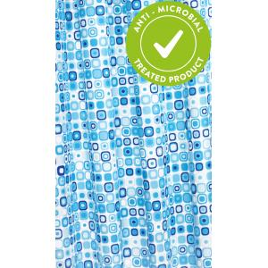 Geo Mosaic Shower Curtain