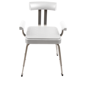 Serenity White Shower Chair