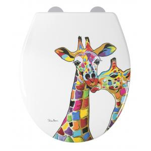 Francie & Josie Flexi-Fix™ Toilet Seat - Steven Brown
