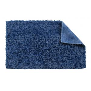 Blue Cotton Bathroom Mat