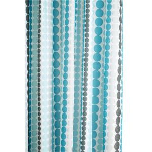Dotted Stripe Shower Curtain
