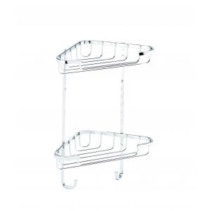 Small Two Tier Corner Basket