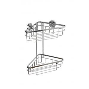 Brockham Flexi-Fix Two Tier Corner Basket